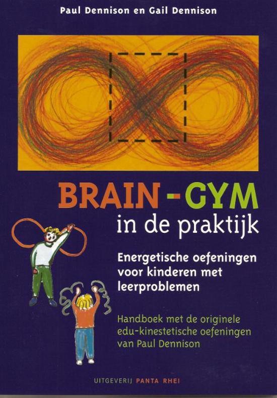 Boek Brain-gym in de praktijk over energetische oefeningen voor kinderen met leerproblemen.