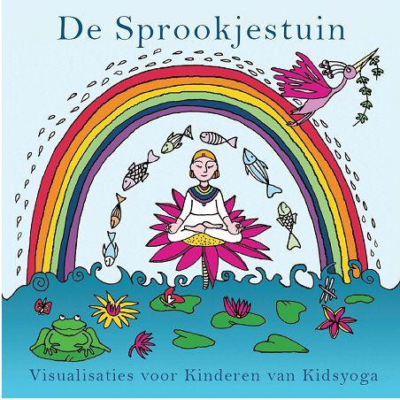 CD de Sprookjestuin met korte visualisatie- en ontspanningsoefeningen voor kinderen.