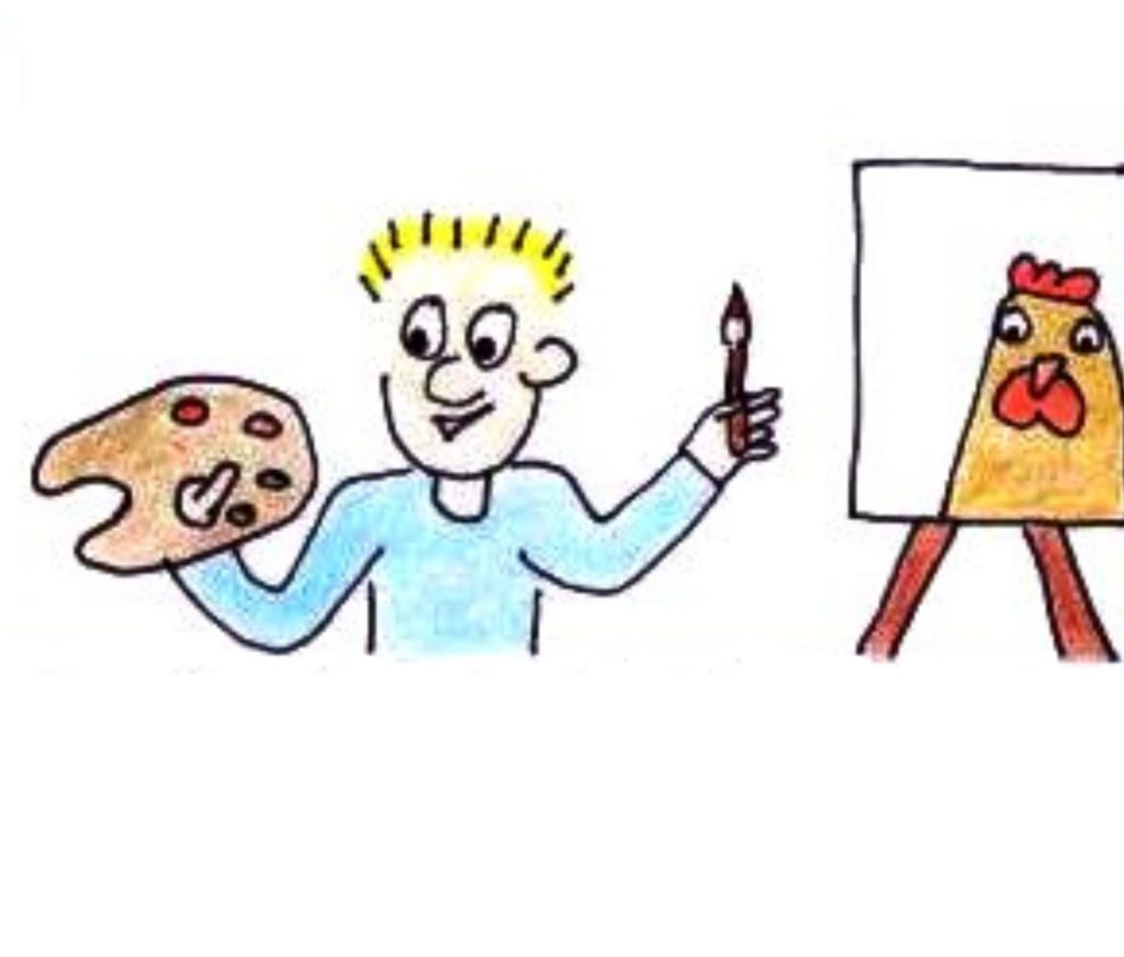 kenmerk beelddenker: creatief zijn